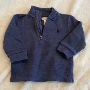 Ralph Lauren quarter zip sweater
